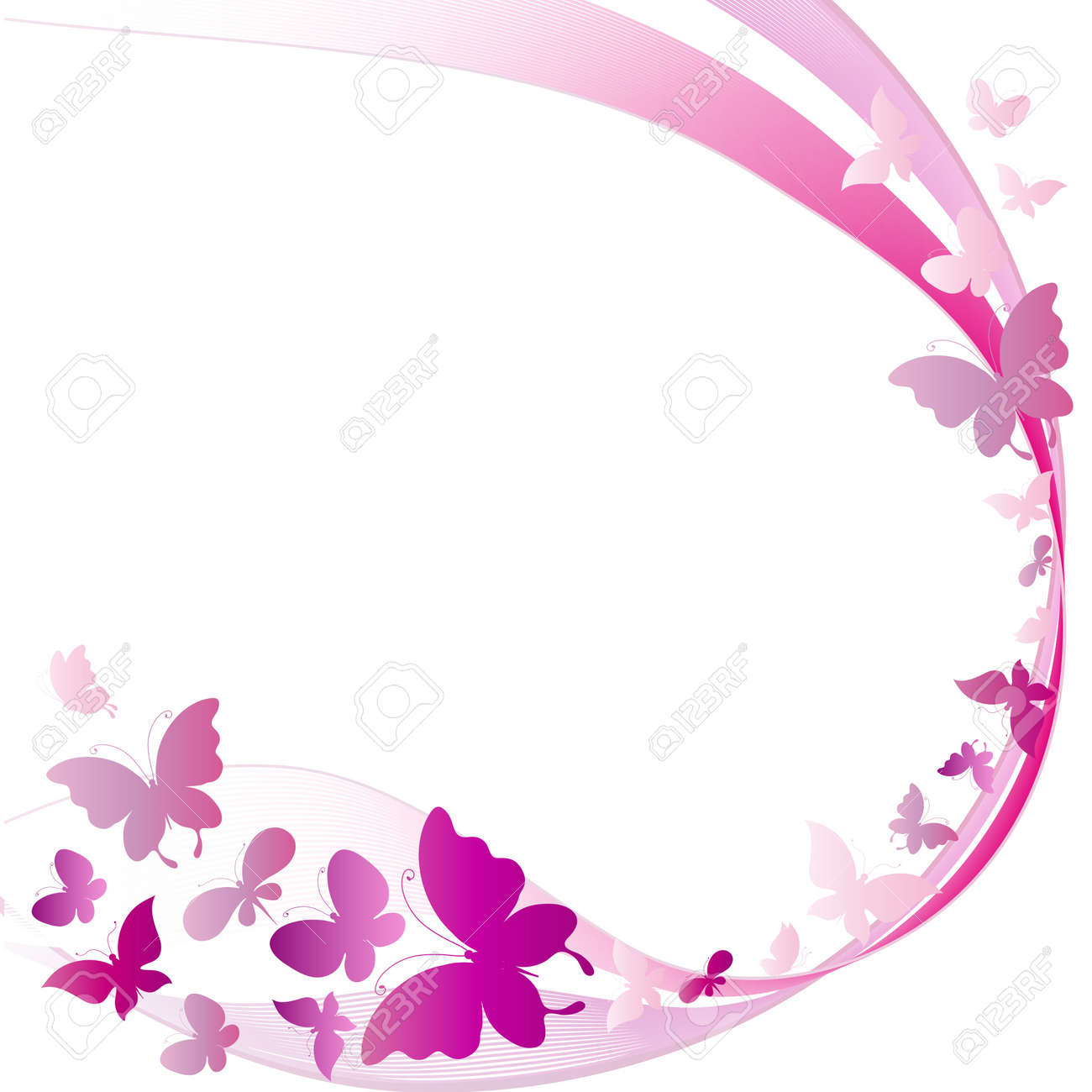butterflies Stock Vector - 19012907