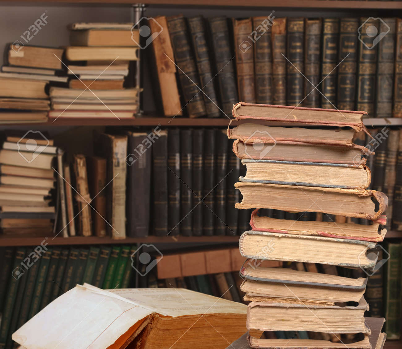 Vintage book Stock Photo - 12536990