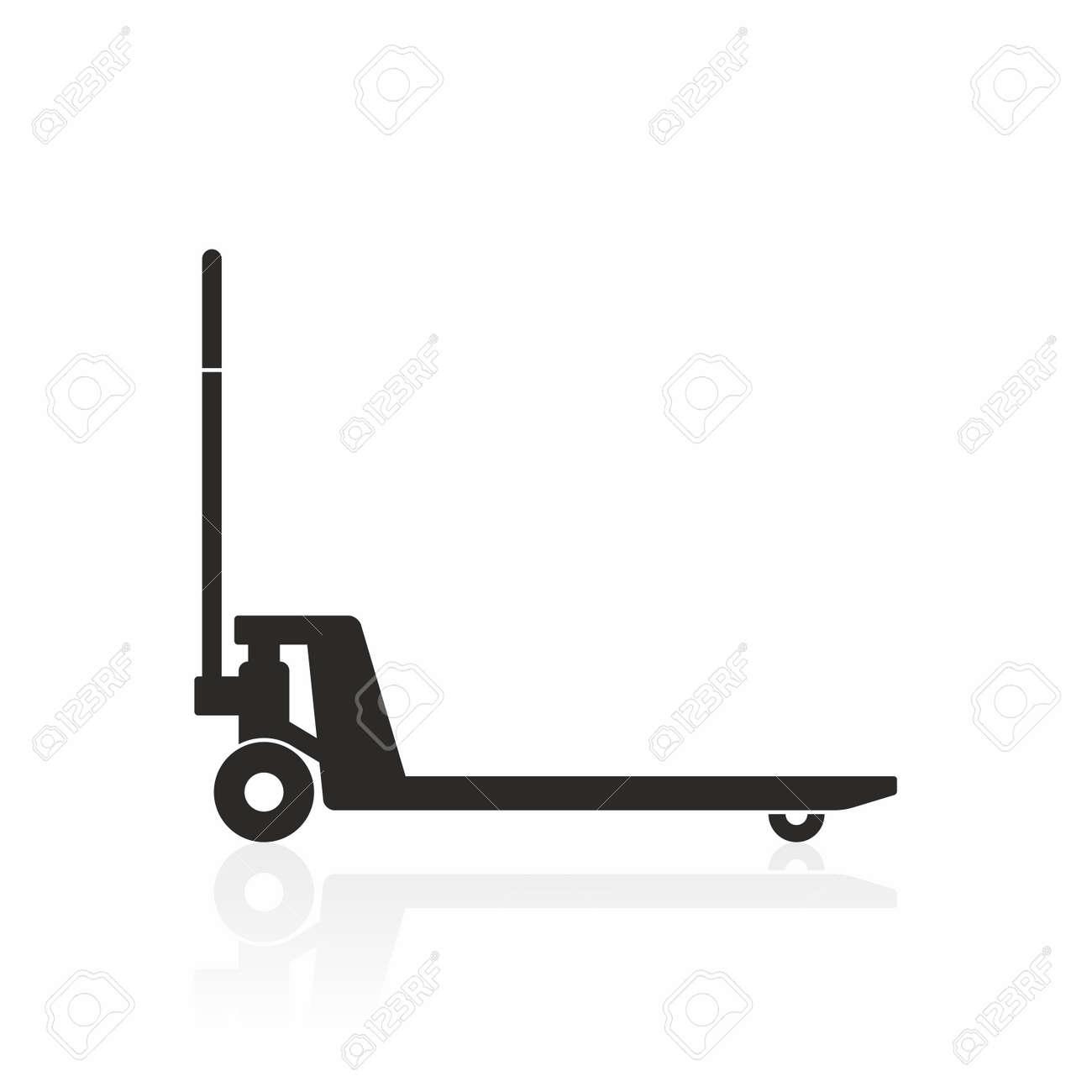 Hand pallet truck icon - 55492493