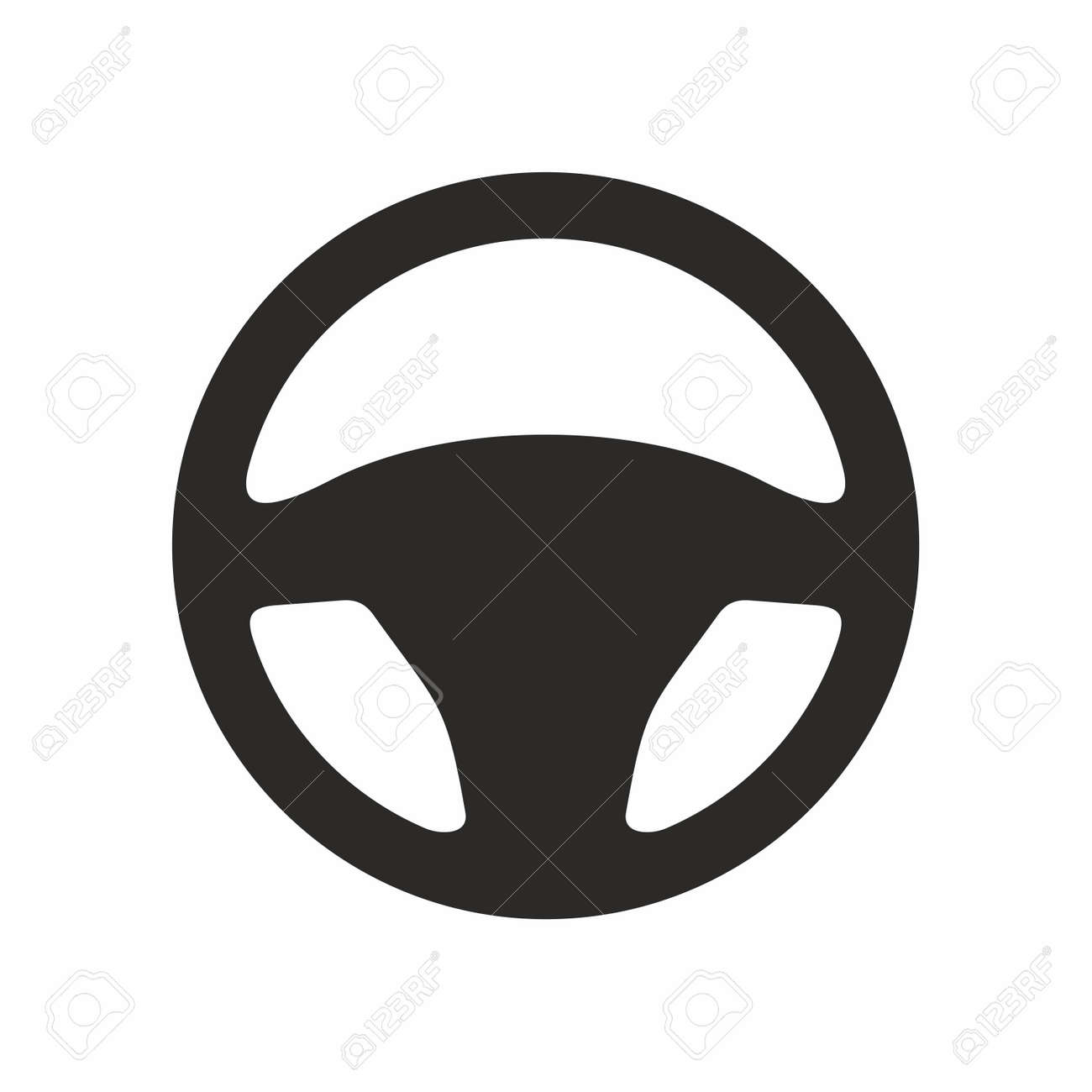 steering wheel vector icon royalty free cliparts vectors and stock illustration image 100084064 steering wheel vector icon