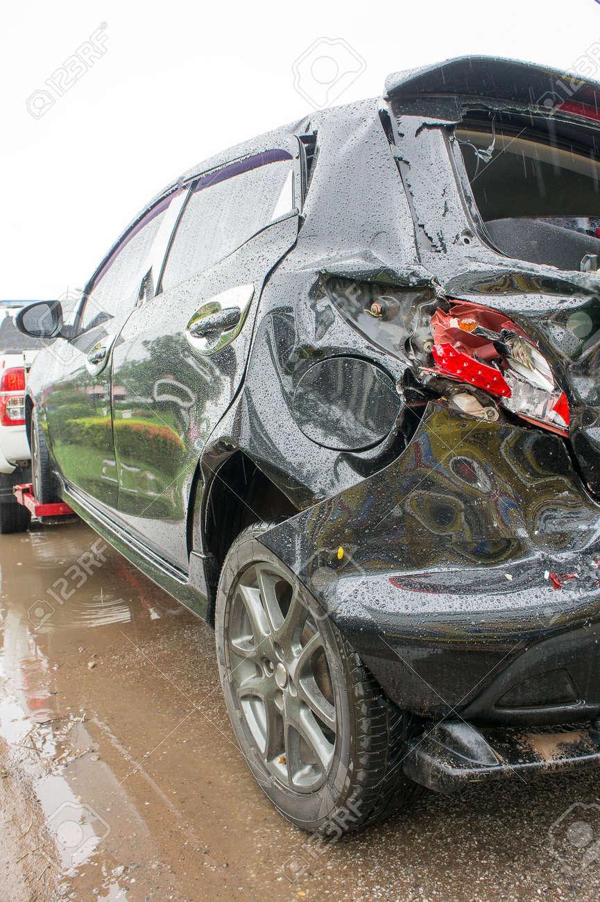 Unfall Autounfall, Autounfall Oft Leicht Passieren Wenn Die ...