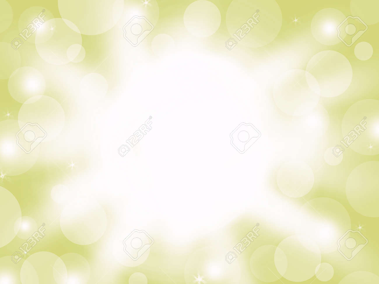 Abstract Lighting And Bokeh White Color On Yellow Pastel Color Stock Photo Picture And Royalty Free Image Image 88558505