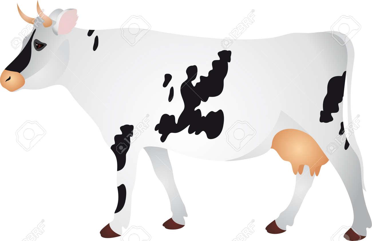 Cow Stock Vector - 7095174
