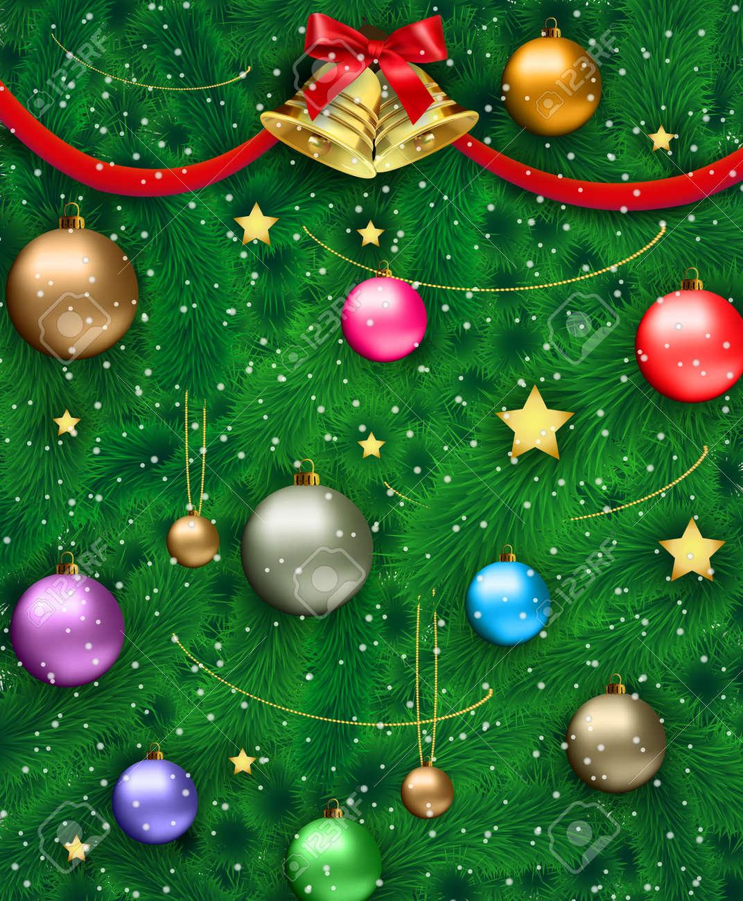 Bonito El Oro Y Las Uñas Rojas De La Navidad Ornamento - Ideas Para ...