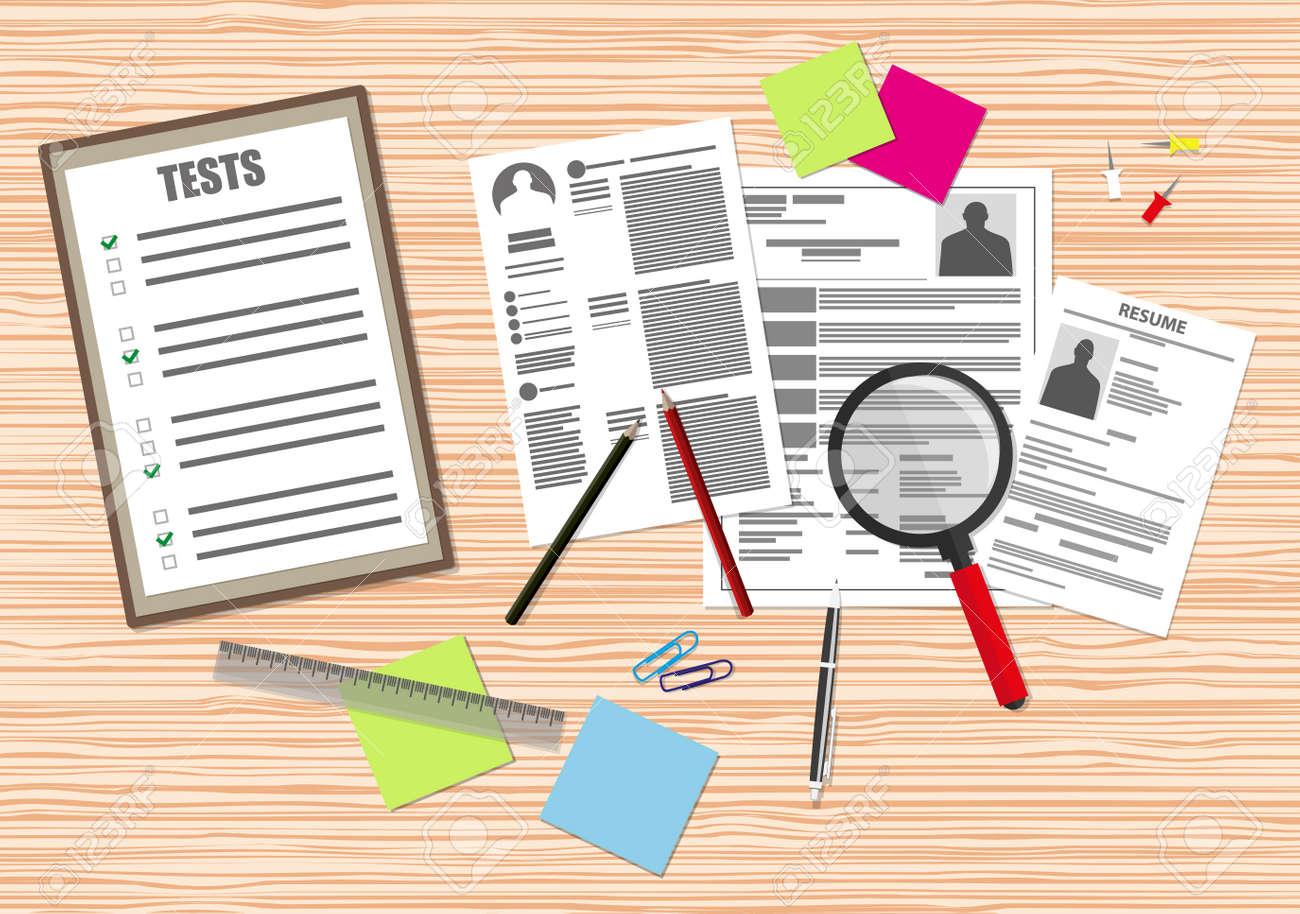 1e57441a49f Recursos Humanos Concepto De Gestión, La Búsqueda Personal Profesional, El  Trabajo, El Análisis De Documentos De Curriculum Vitae, La Oficina De Mesa  De ...