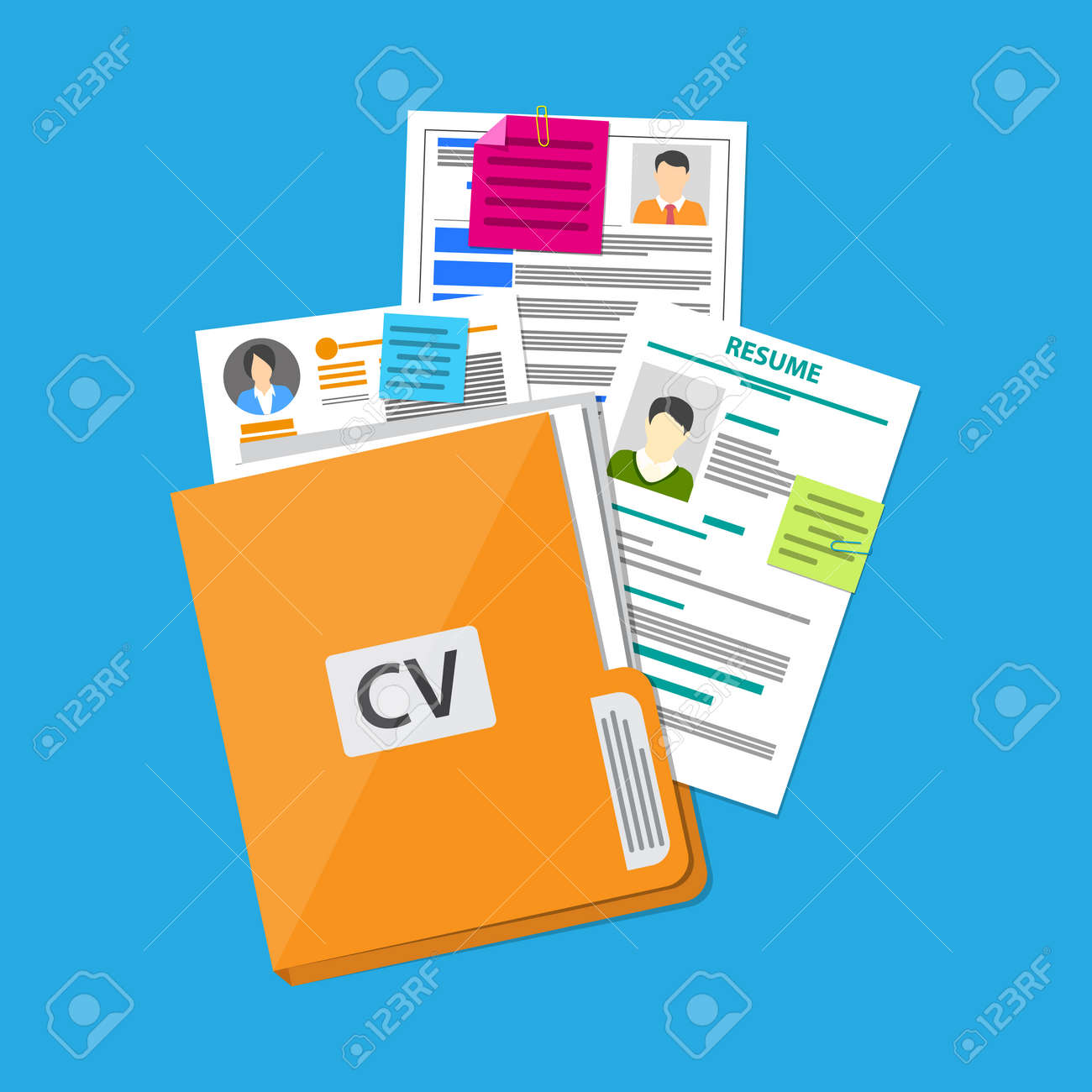 human resources management concept searching professional staff