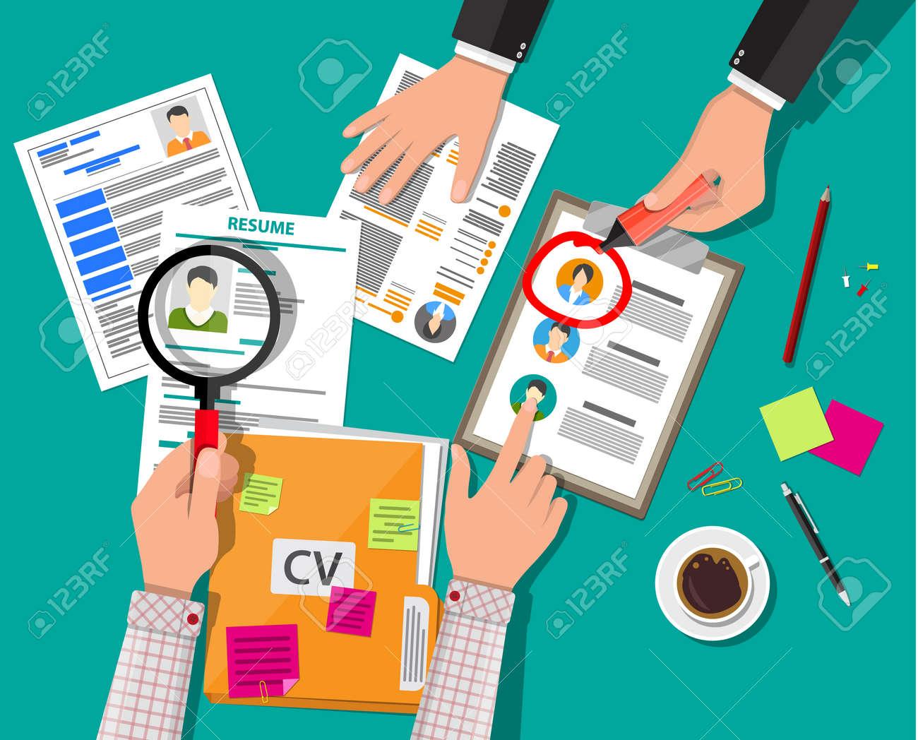 Human resources management concept - 74745018