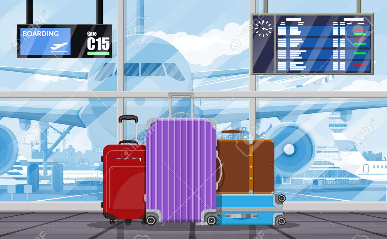 International airport concept. - 103177942