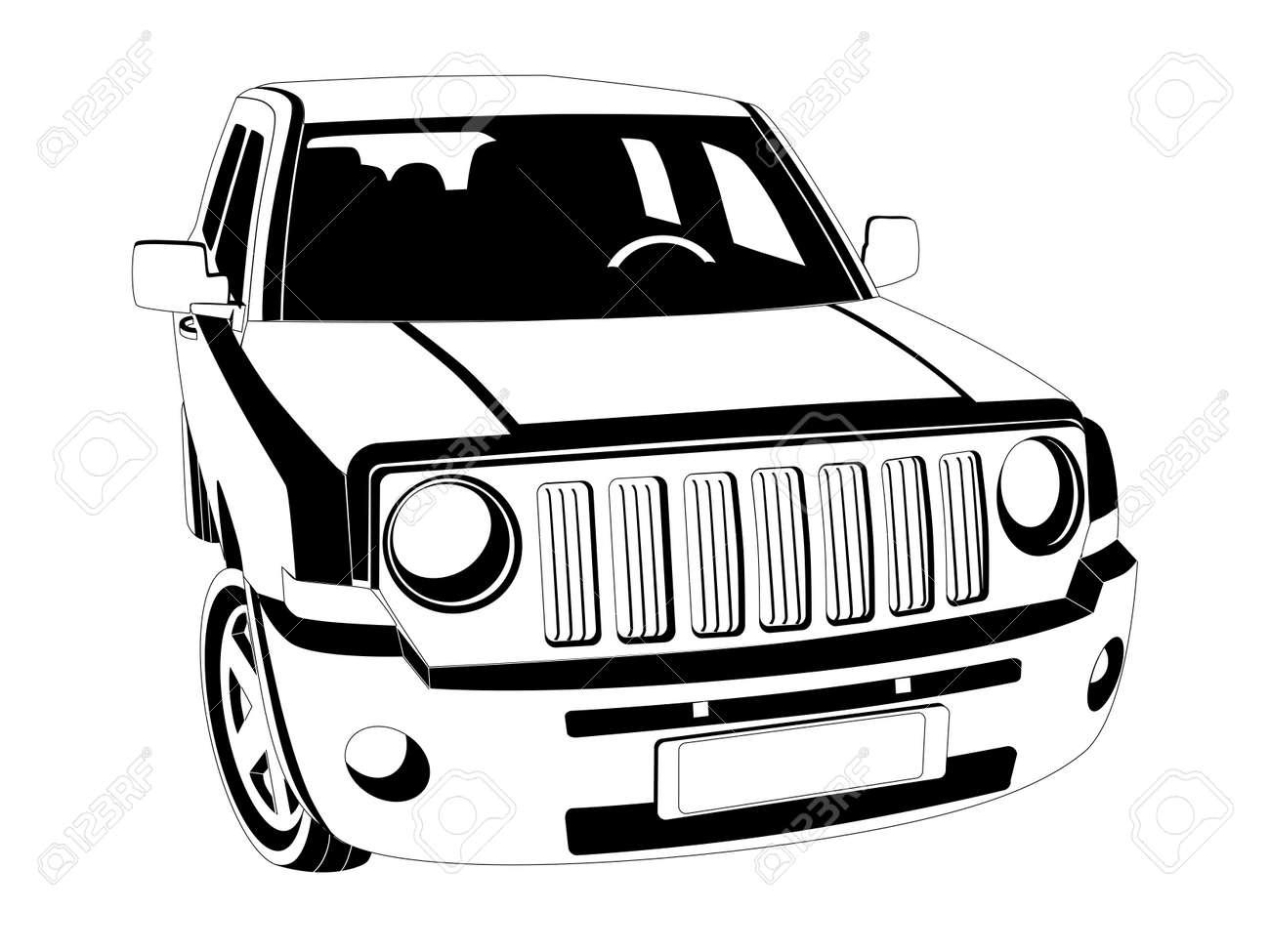 Suv Car Cliparts Stock Vector And Royalty Free Suv Car
