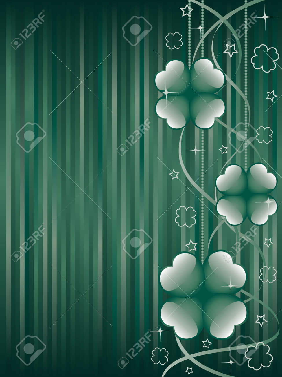 St. Patrick's day background. Stock Vector - 6289181