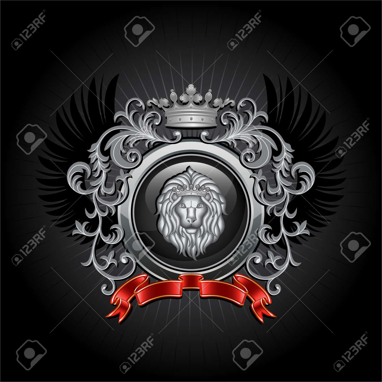 Coat of arms Stock Vector - 8503033