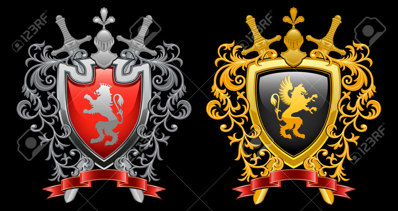 Coat of arms Stock Vector - 9930475