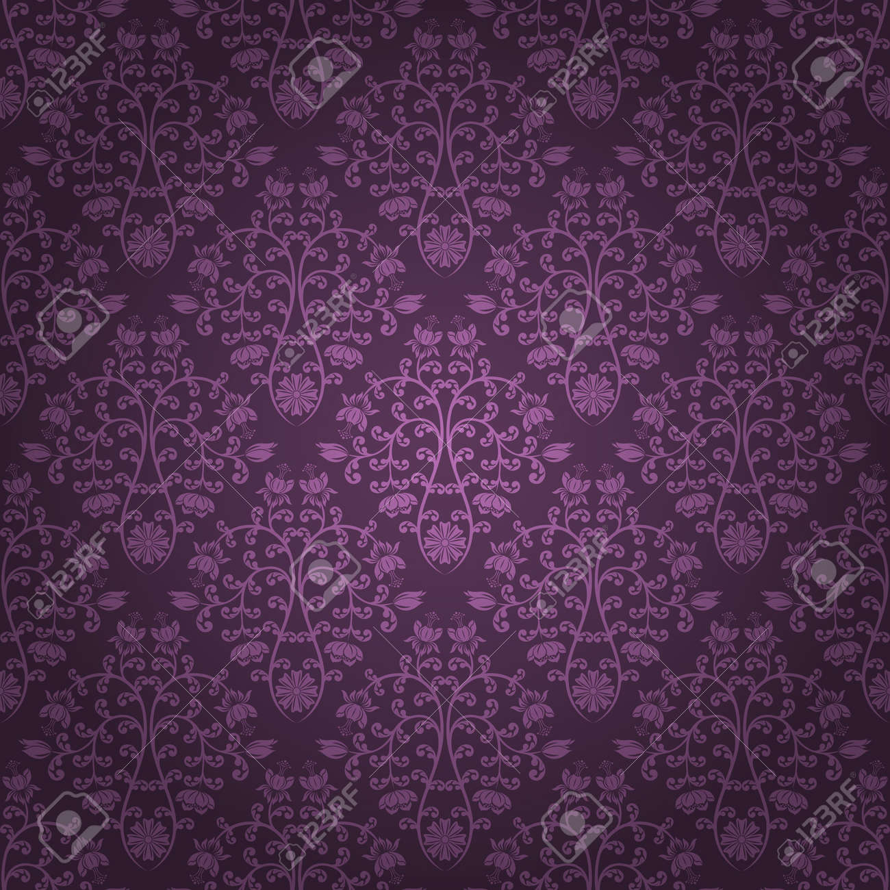 Seamless floral pattern Stock Vector - 10709731