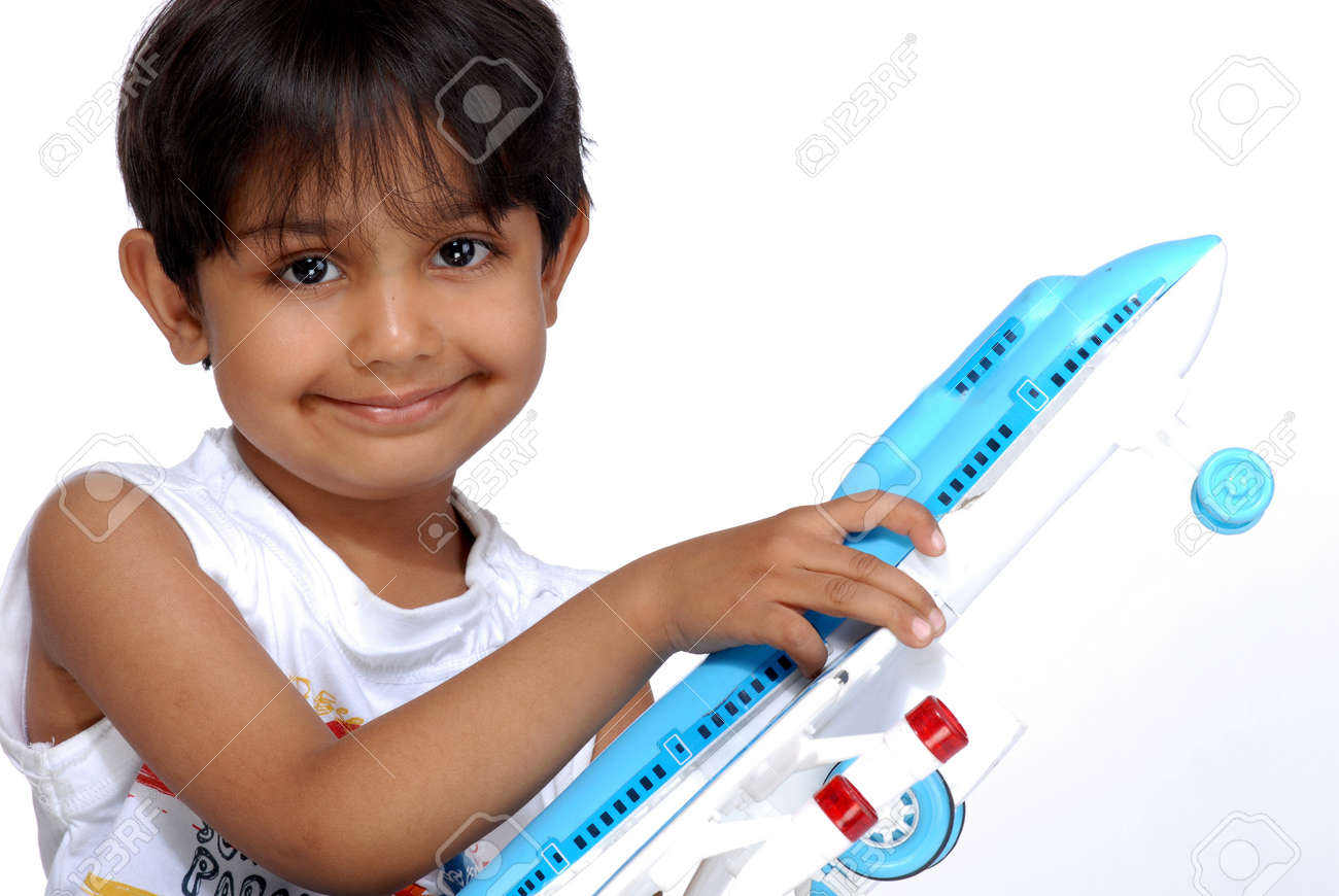 88ff22301 Boy Holding Plastic Toy Stock Photo, Picture And Royalty Free Image ...
