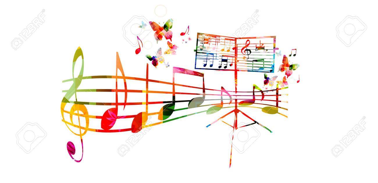 musical staff template