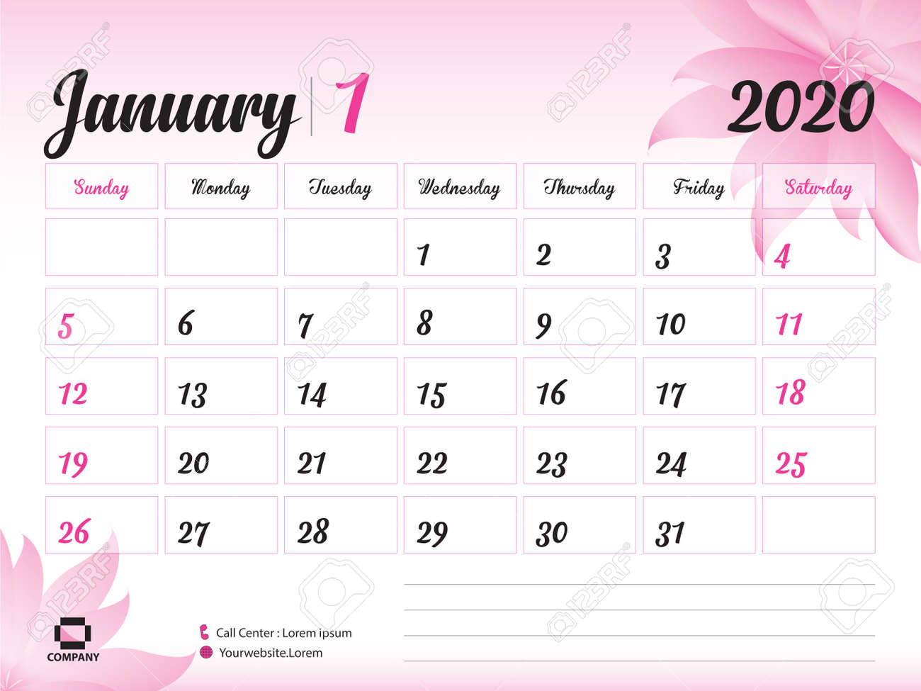 photo about Printable Calendar 2020 named January 2020 Calendar year Template, Calendar 2020, Table Calendar Structure,..