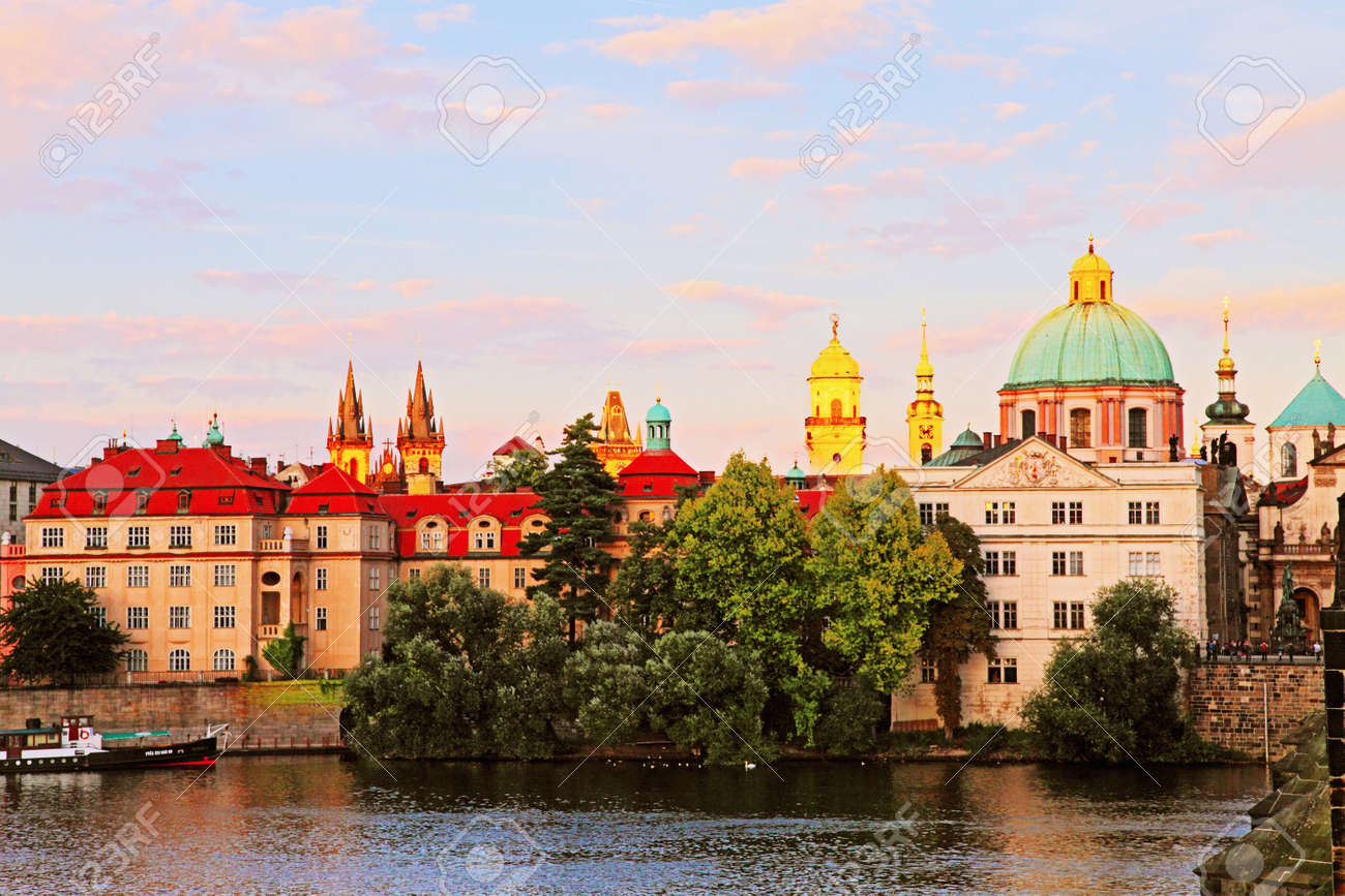 The Old town in Prague Stock Photo - 12035046