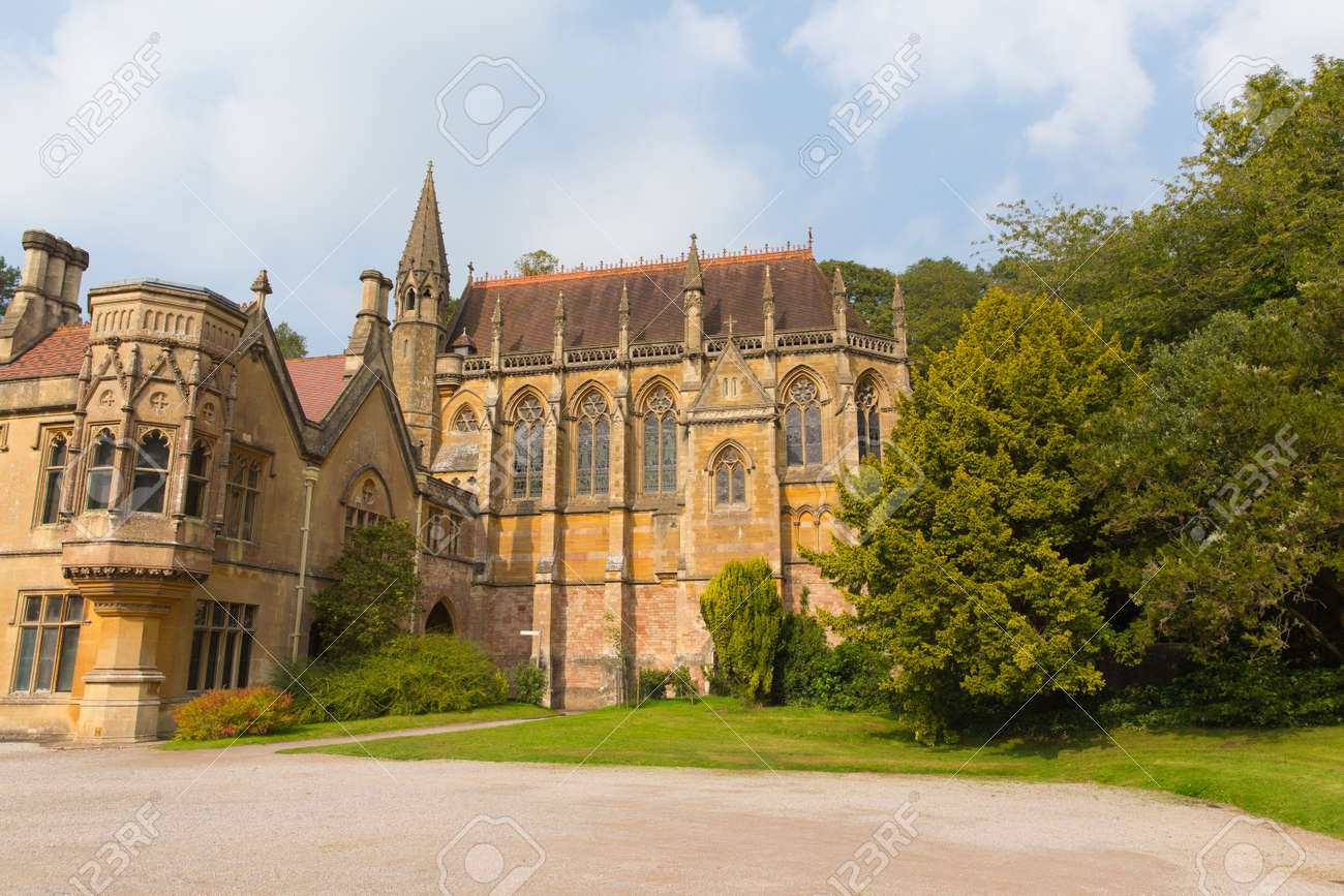Building On The State Tyntesfield House Near Bristol Somerset ...