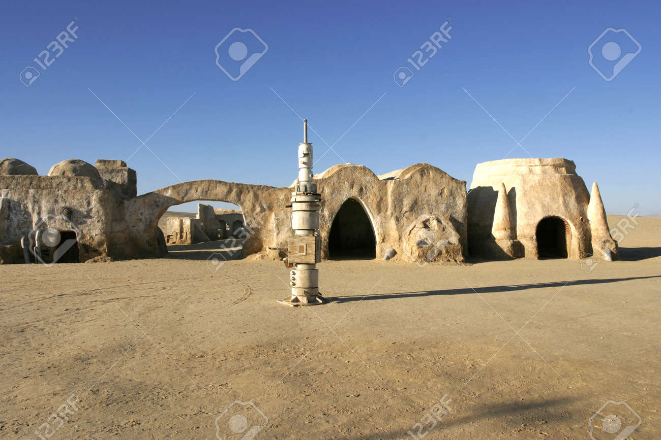 Nefta Tunisia Dec 8 Original Movie Scenery For Star Wars Stock Photo Picture And Royalty Free Image Image 51342239