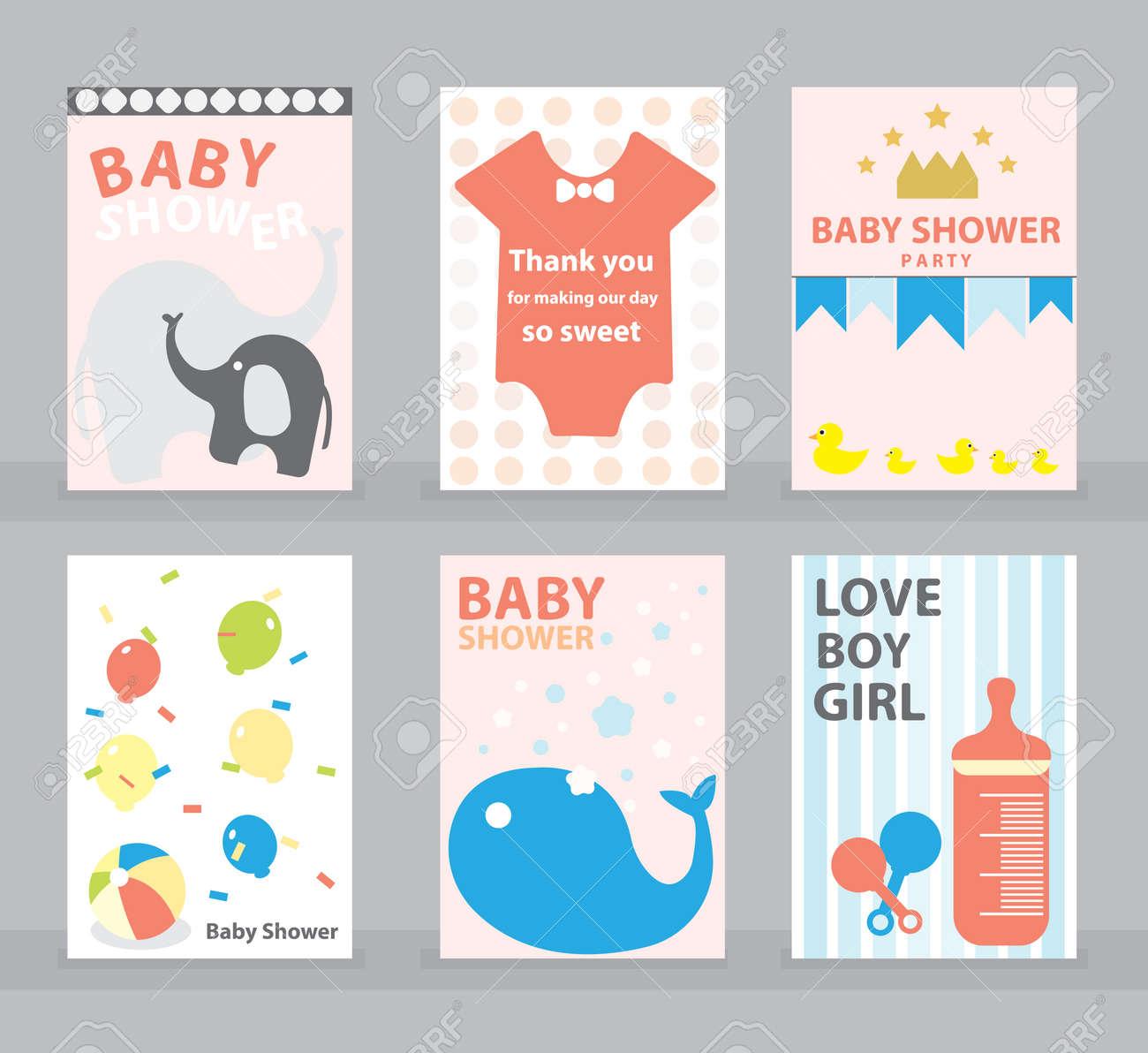 Baby Shower Tarjeta De Felicitacion Tarjeta De Feliz Cumpleanos