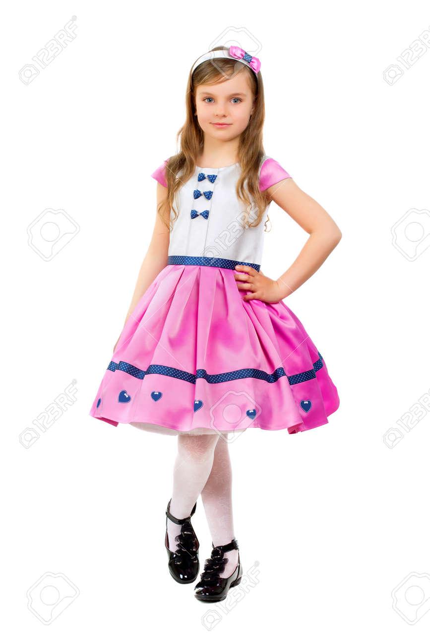 Robe jeune fille habillee