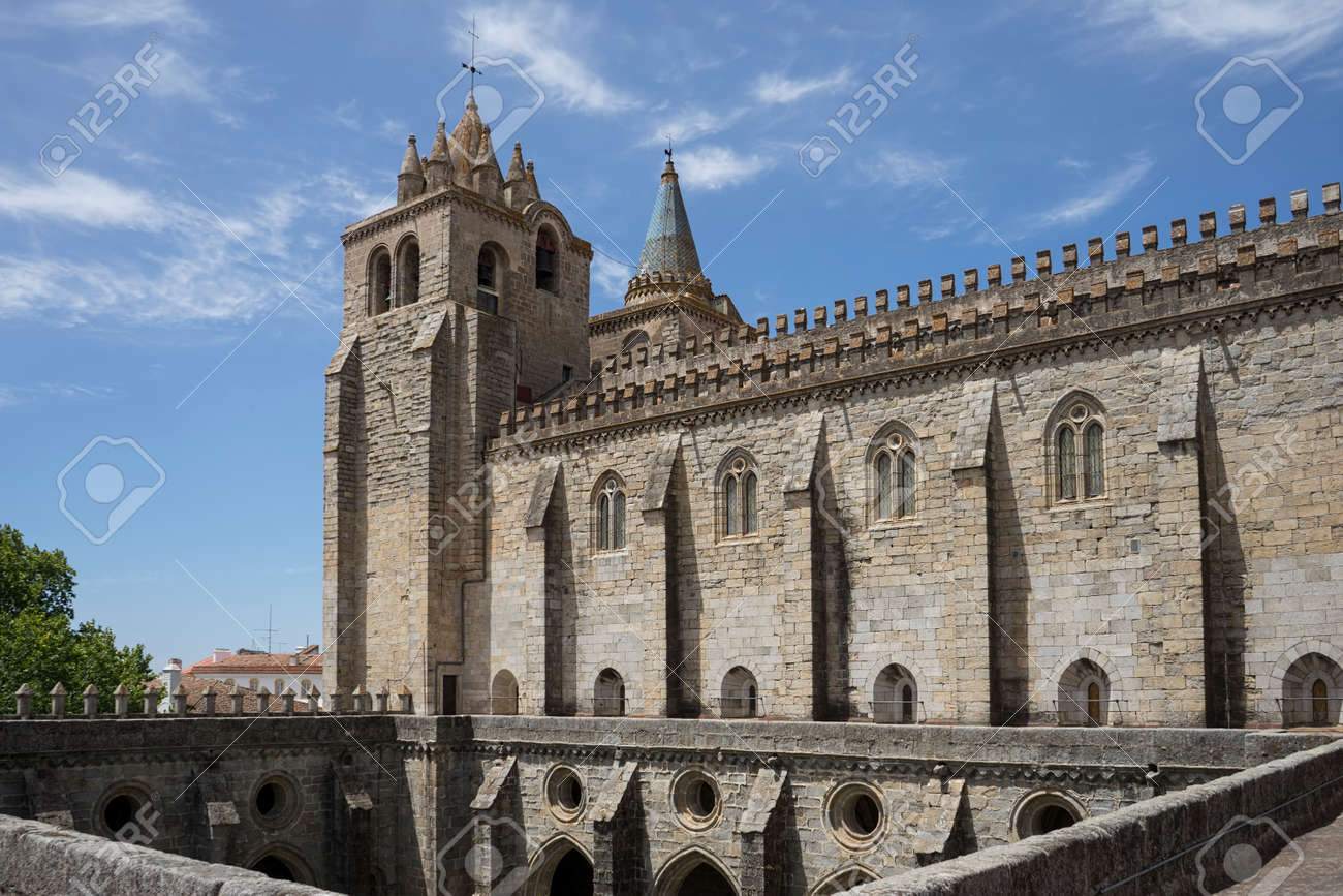Cathedral Basilica of Our Lady of the Assumption of vora, Portugal - 53039481
