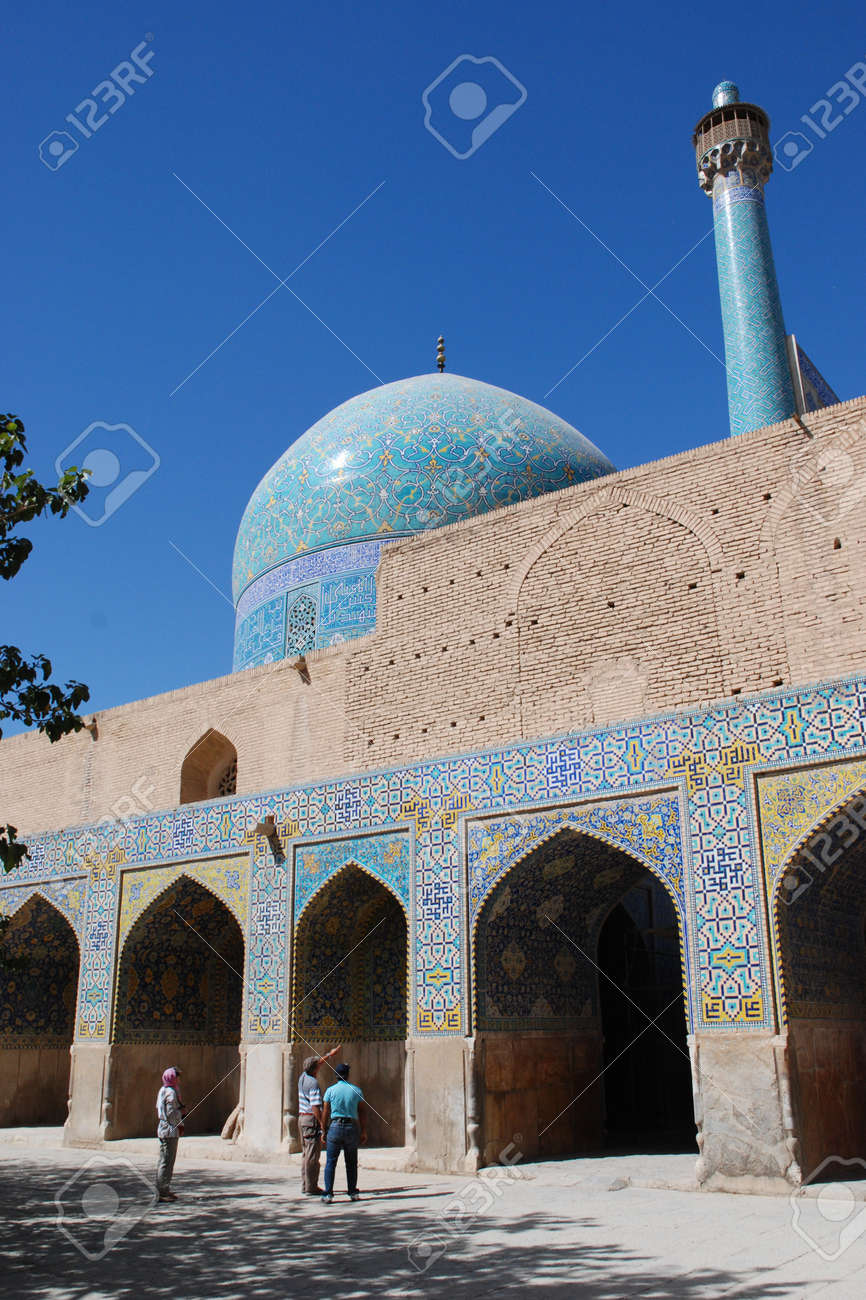 Shah  Imam  Mosque in Isfahan, Iran Stock Photo - 18485931