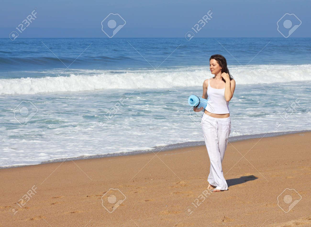 Sport on the beach Stock Photo - 18116866