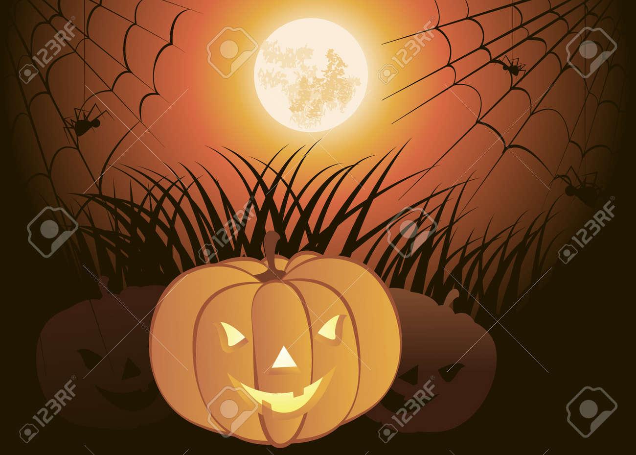 Halloween Pumpkin Stock Vector - 18419725