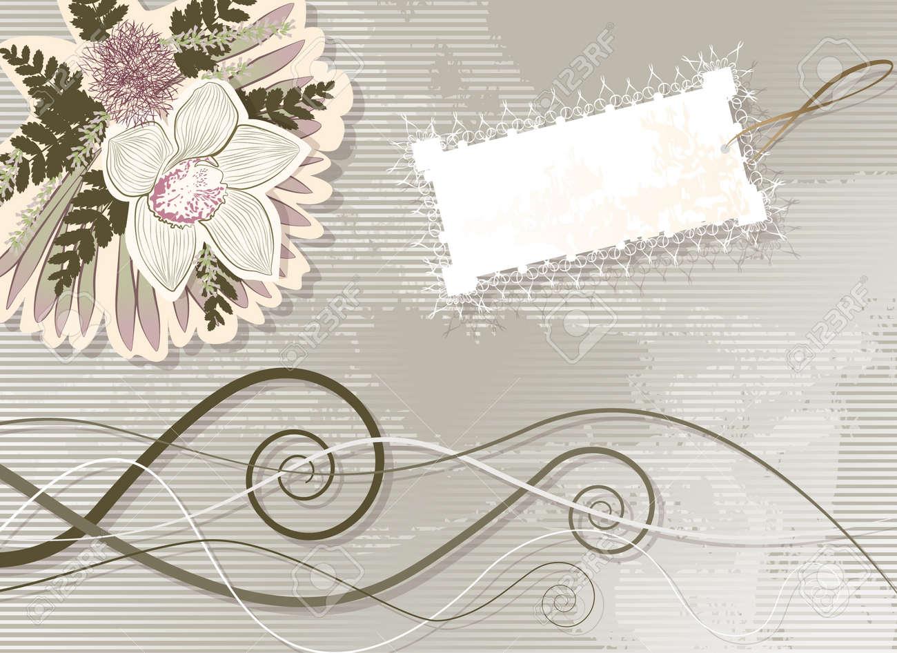 vector floral elements Stock Vector - 18455915