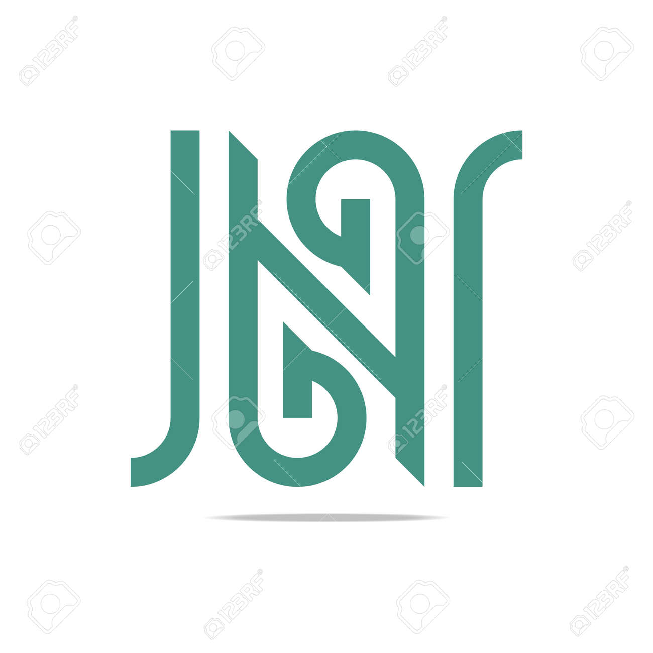 Element symbol n gallery meaning of text symbols logo abstract letter g green combination n design element symbol urtaz Image collections