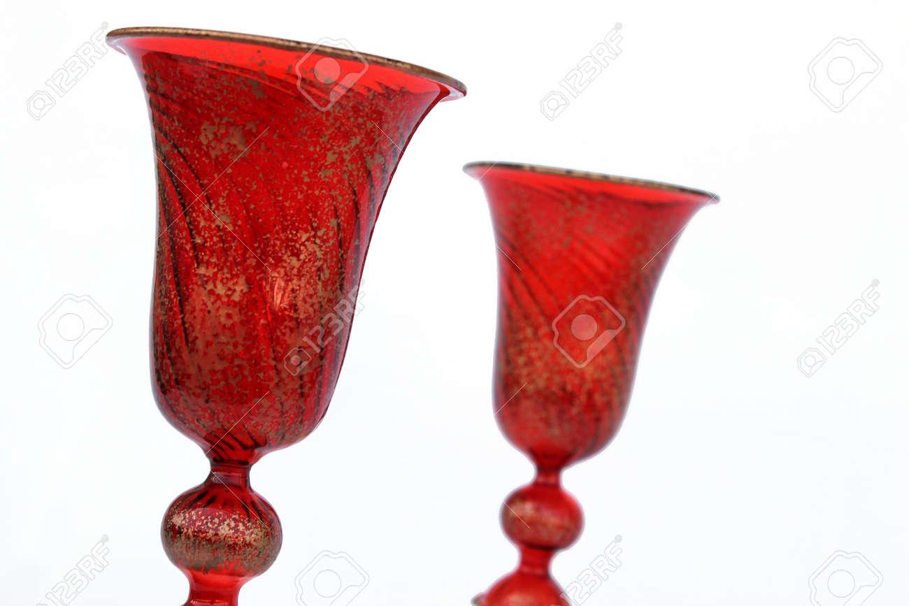 glasses in Murano glass - Venice Stock Photo - 12912900