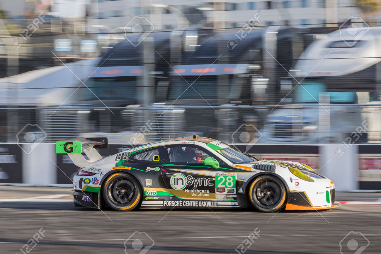 Porsche Long Beach >> April 07 2017 Long Beach California Usa The Alegra Motorsports