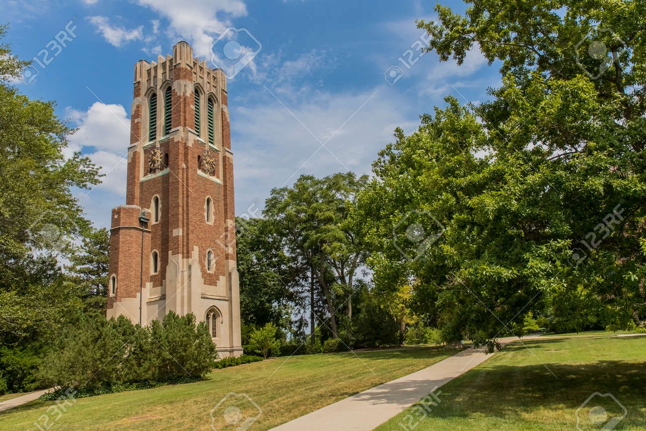 Michigan State Campus >> The Beaumont Tower Is A Structure On The Campus Of Michigan State