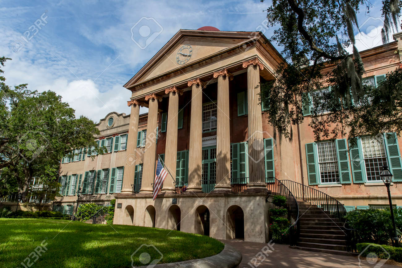 College of Charleston, the oldest municipal college in America,