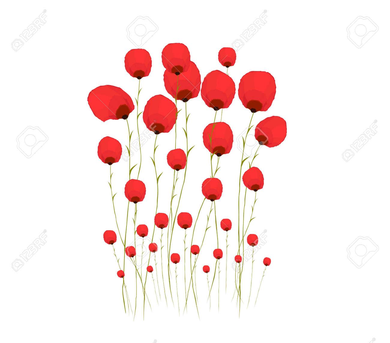Pretty red flower watercolour royalty free klipartlar vektr pretty red flower watercolour stok fotoraf 41494370 mightylinksfo