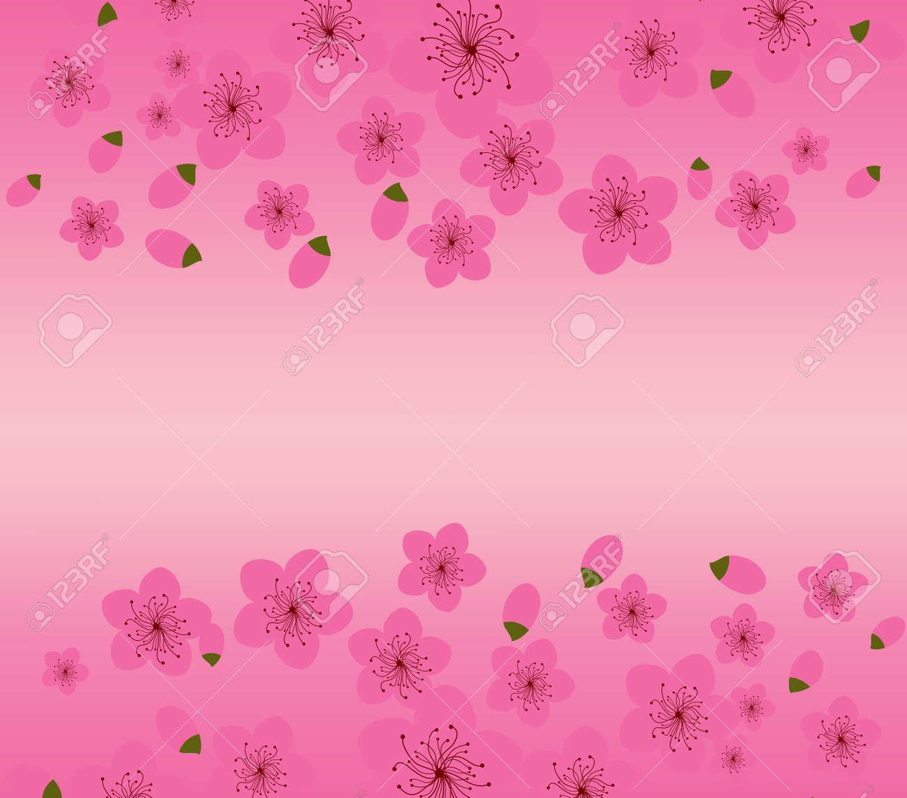 中国の旧正月の梅の花の背景のイラスト素材ベクタ Image 48142080