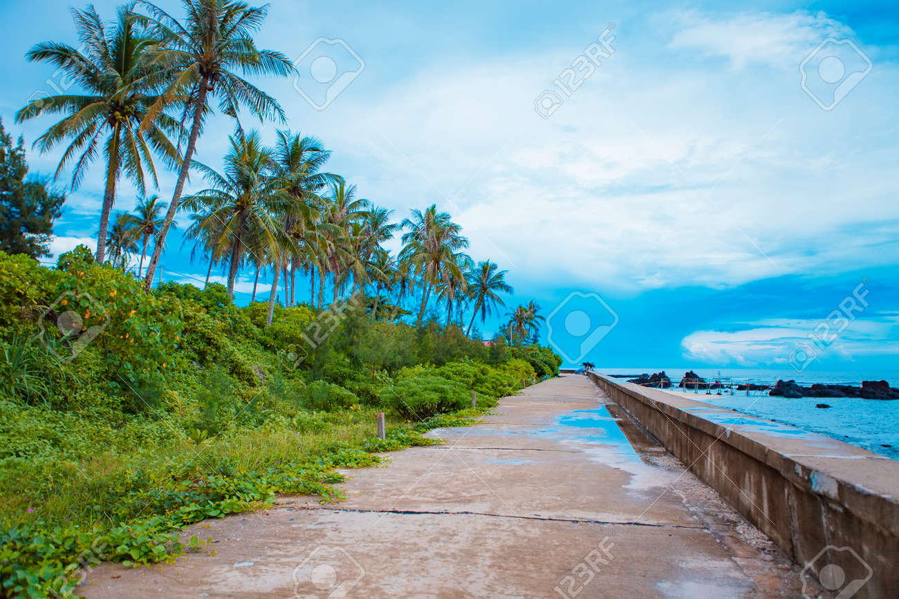 Beach On Small Island In Ly Son Quang Ngai Vietnam Stock Photo Picture And Royalty Free Image Image 108727377