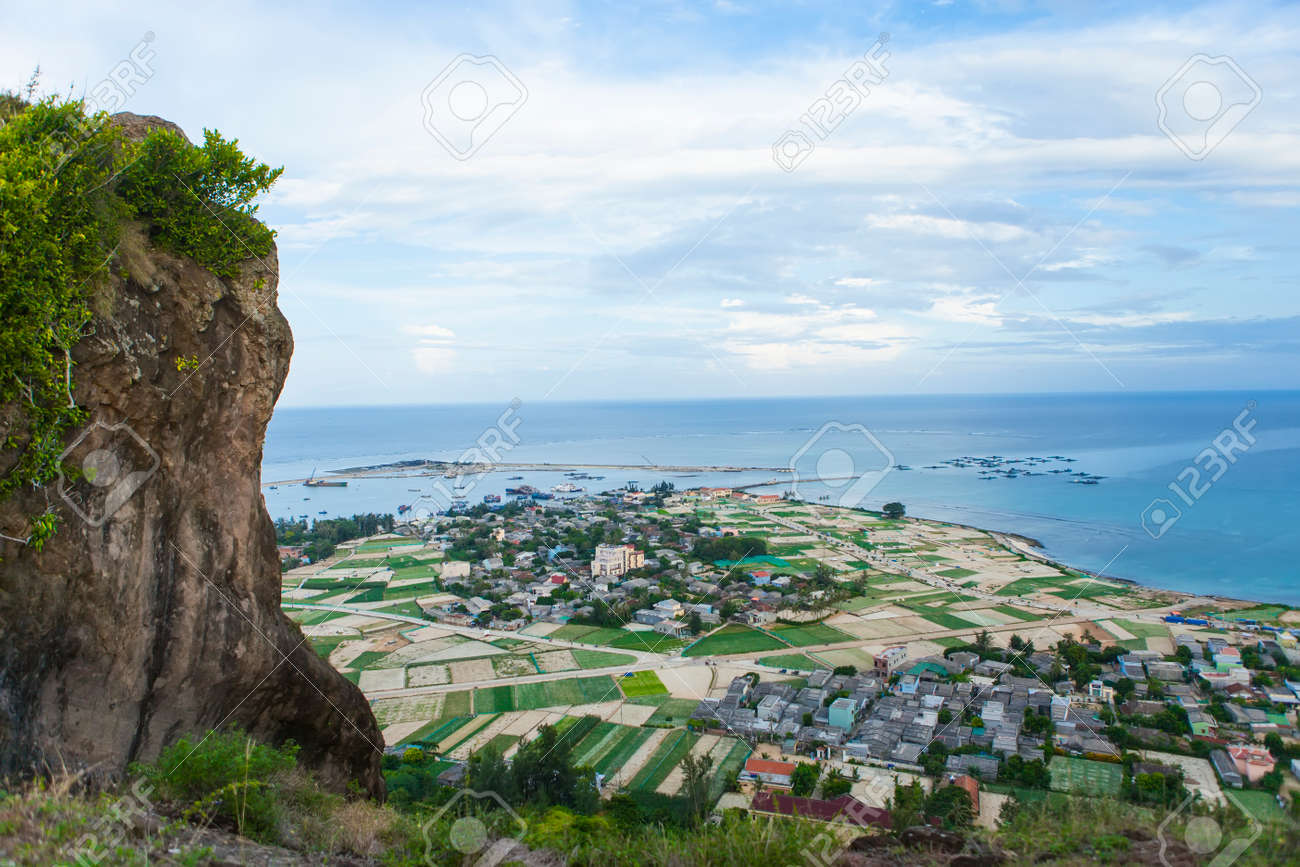 Beautiful Seascape In Ly Son Island Quang Ngai Vietnam Stock Photo Picture And Royalty Free Image Image 108727384