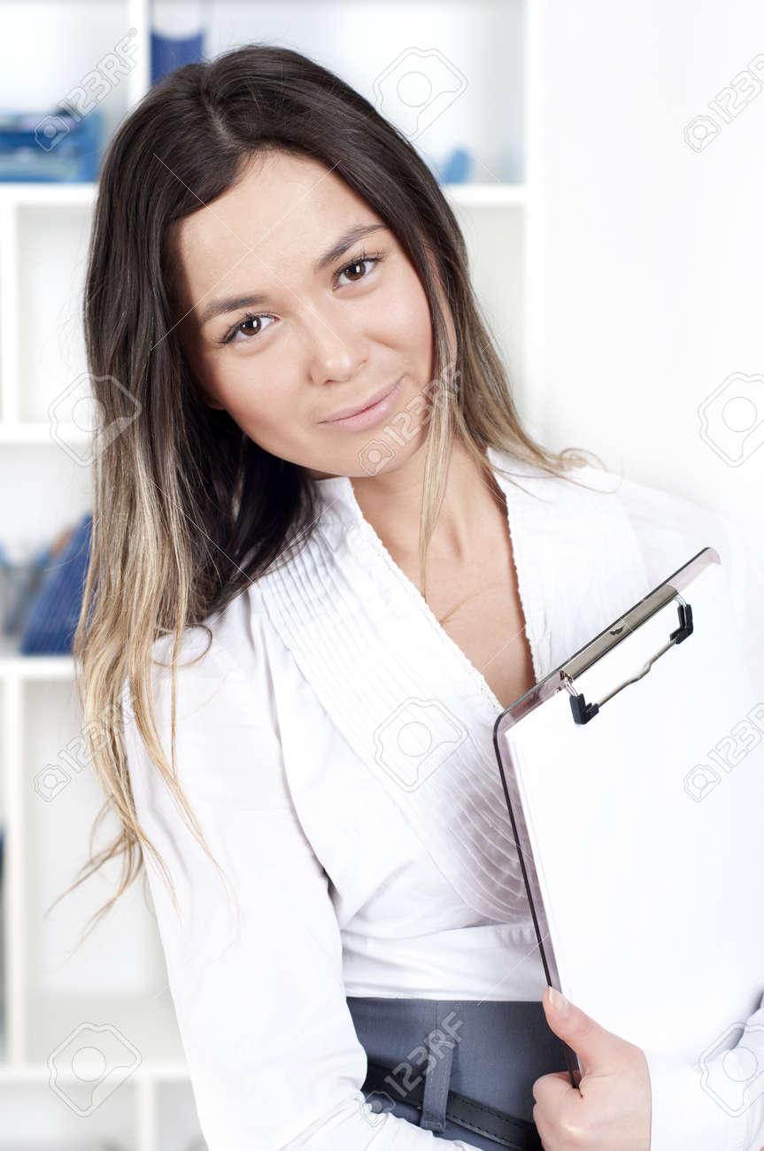 portrait of beautiful business woman Stock Photo - 12939439