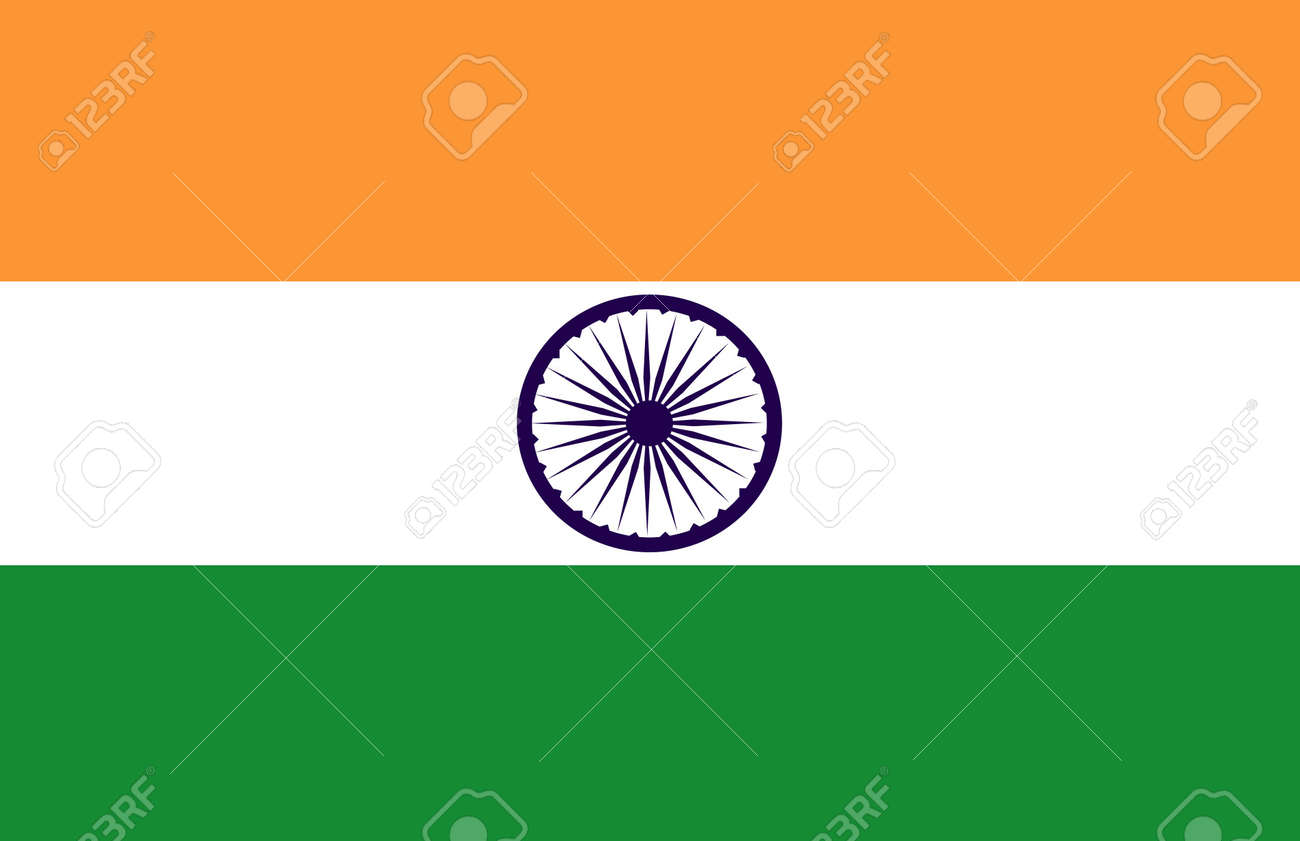 flag of india original Stock Photo - 4272166