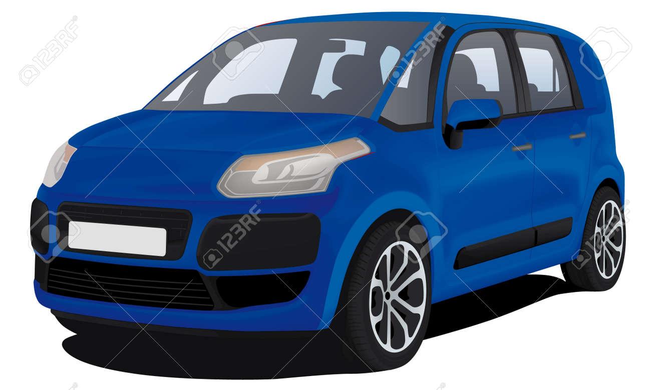modern family car - 12481785