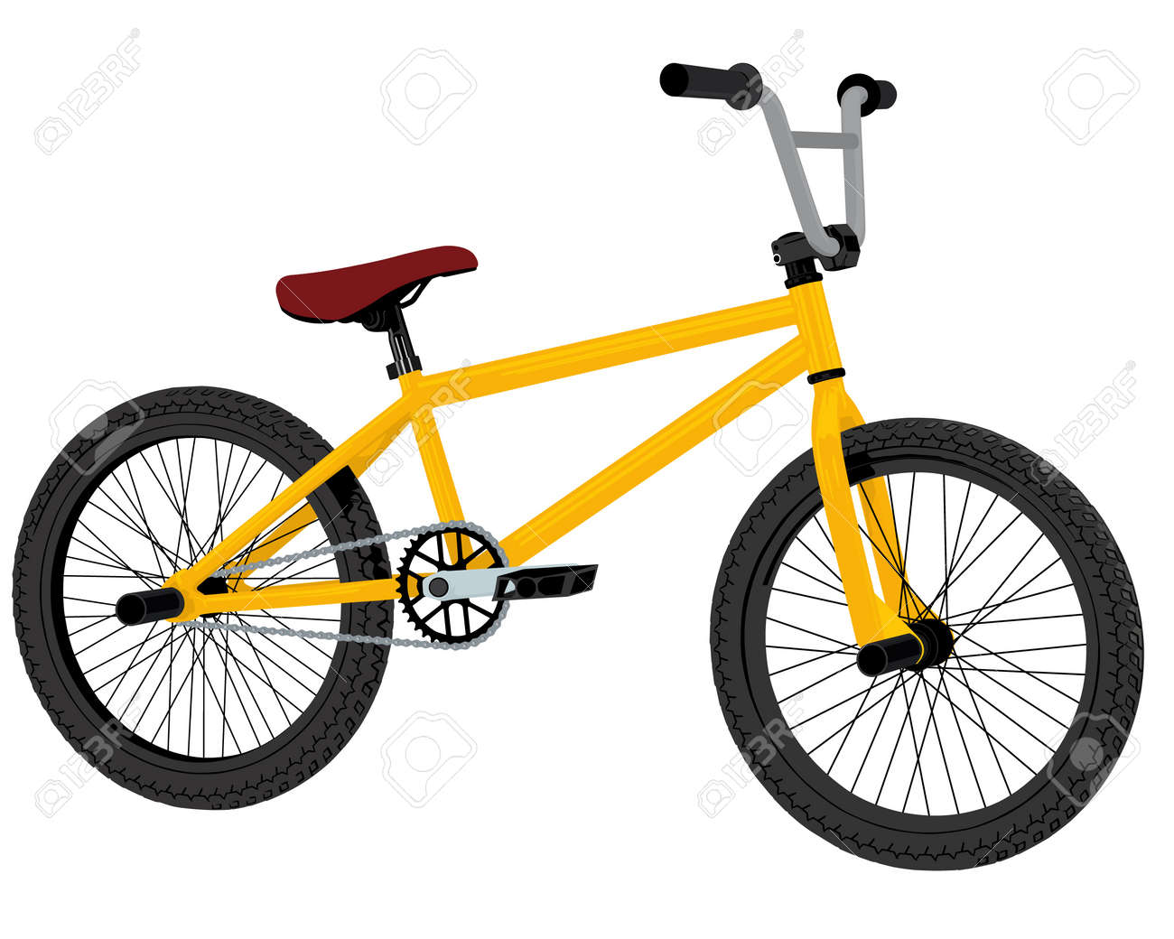 bmx bicycle Stock Vector - 12788268
