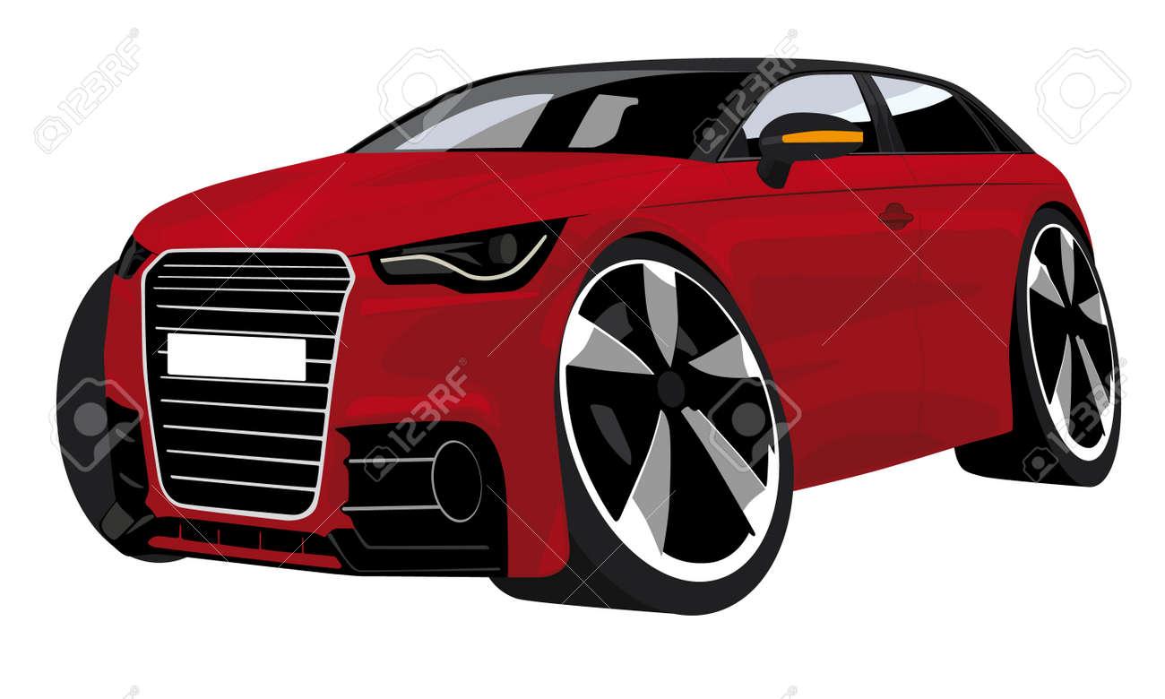 cartoon car Stock Vector - 15166293