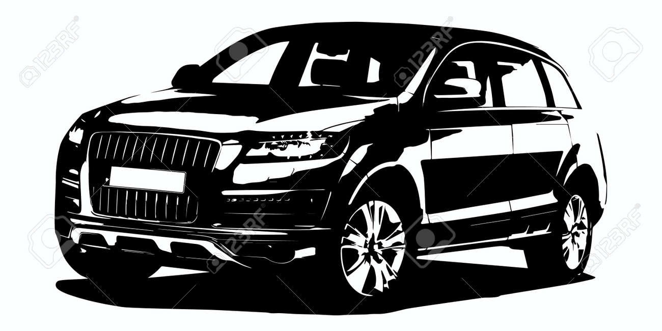 Suv Stock Vector Illustration And Royalty Free Suv Clipart