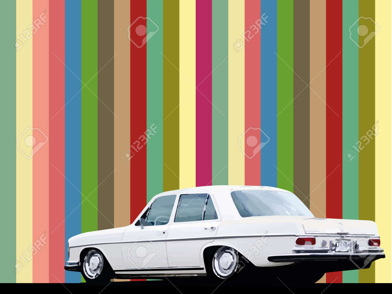 abstract background with a car - 15802568