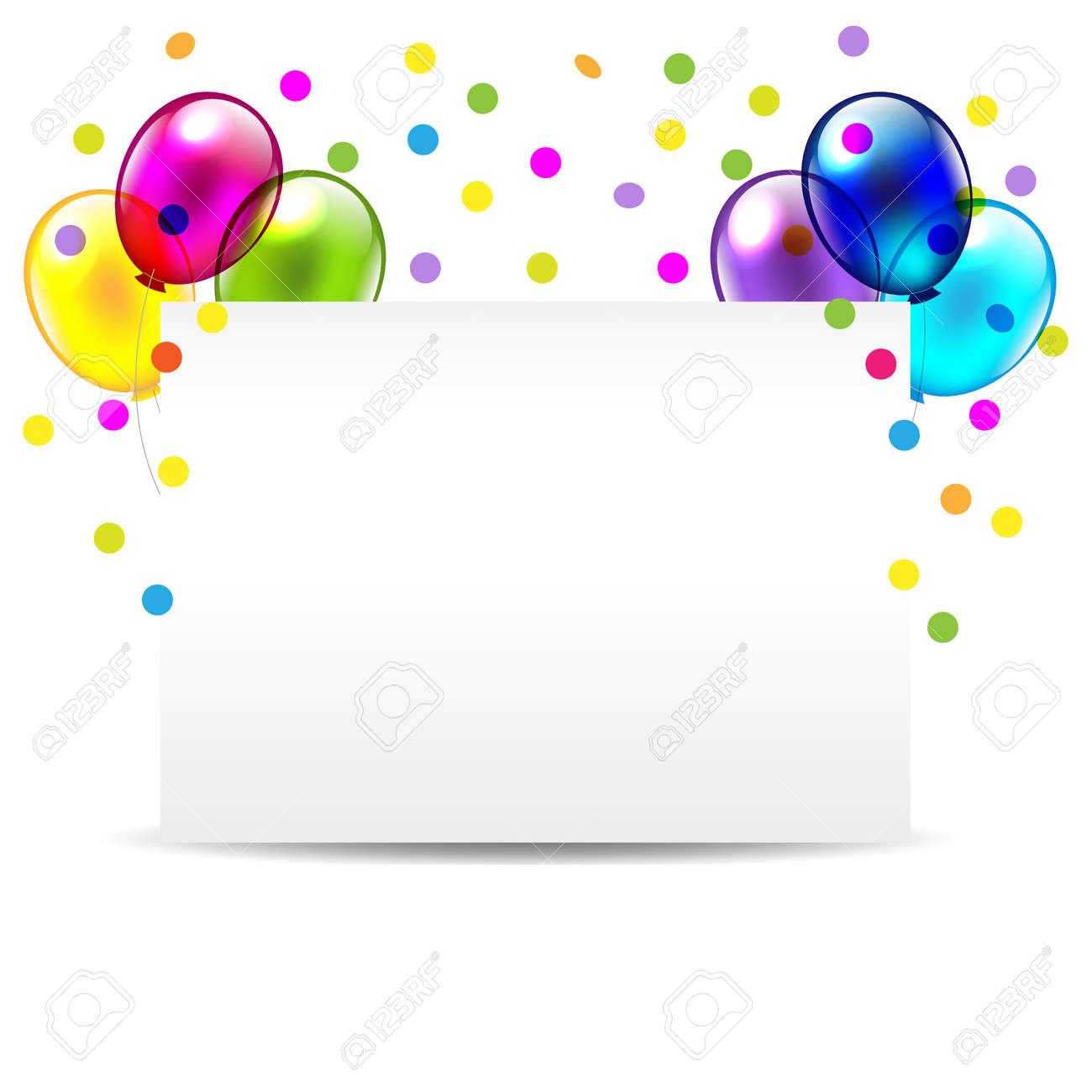 Birthday invitation card for congratulations vector illustration birthday invitation card for congratulations vector illustration stock vector 14395097 stopboris Choice Image