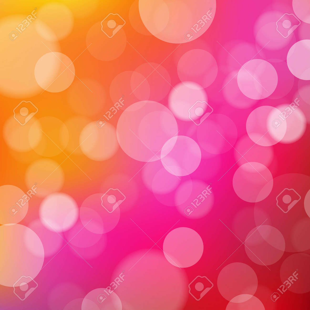 Lights Orange And Pink Background With Bokeh, With Gradient Mesh, Vector Illustration Stock Vector - 22528417