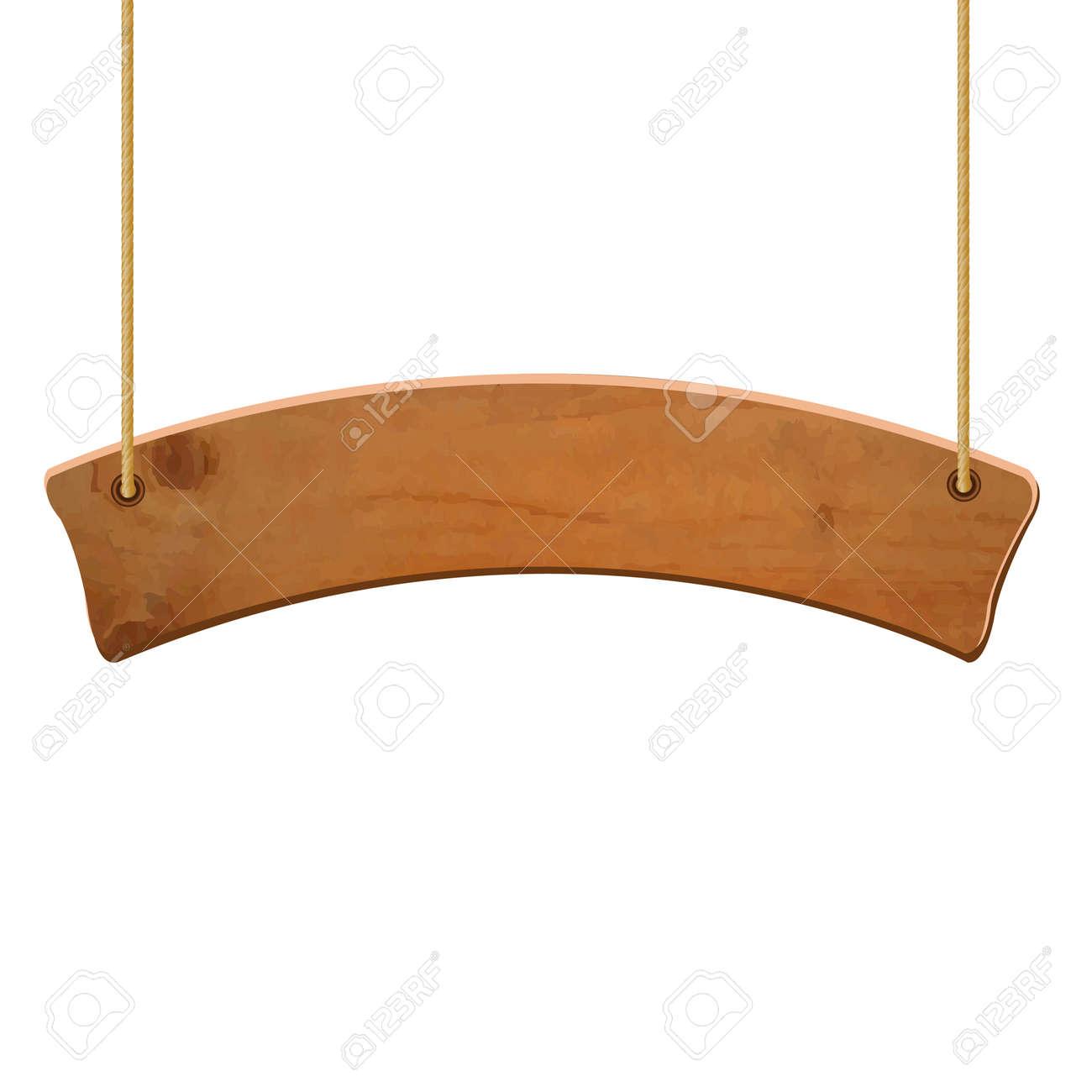 Wooden Sign, Vector Illustration - 30220739
