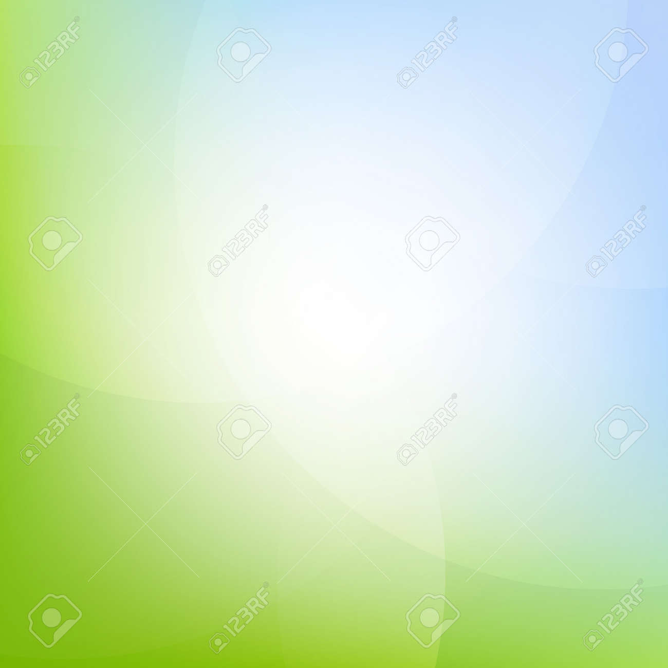Green And Blue Background With Gradient Mesh, Vector Illustration - 56871614